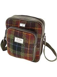 Product image: Mens Harris Tweed Messenger Bag with Adjustable